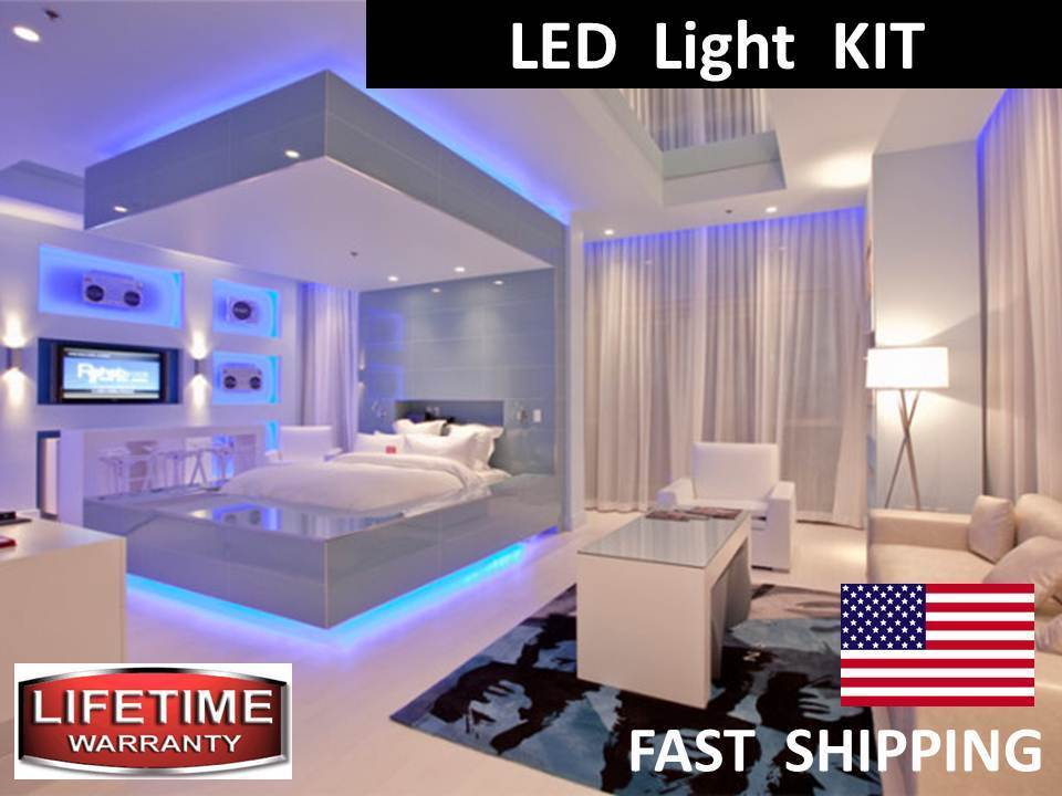 Led Grill Lights >> Above the CURTAIN --- Under the BED -- LED Lighting Light ...