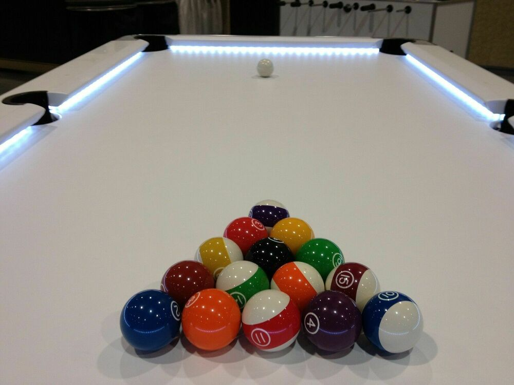 pool table lights led remote control lifetime warranty ebay. Black Bedroom Furniture Sets. Home Design Ideas