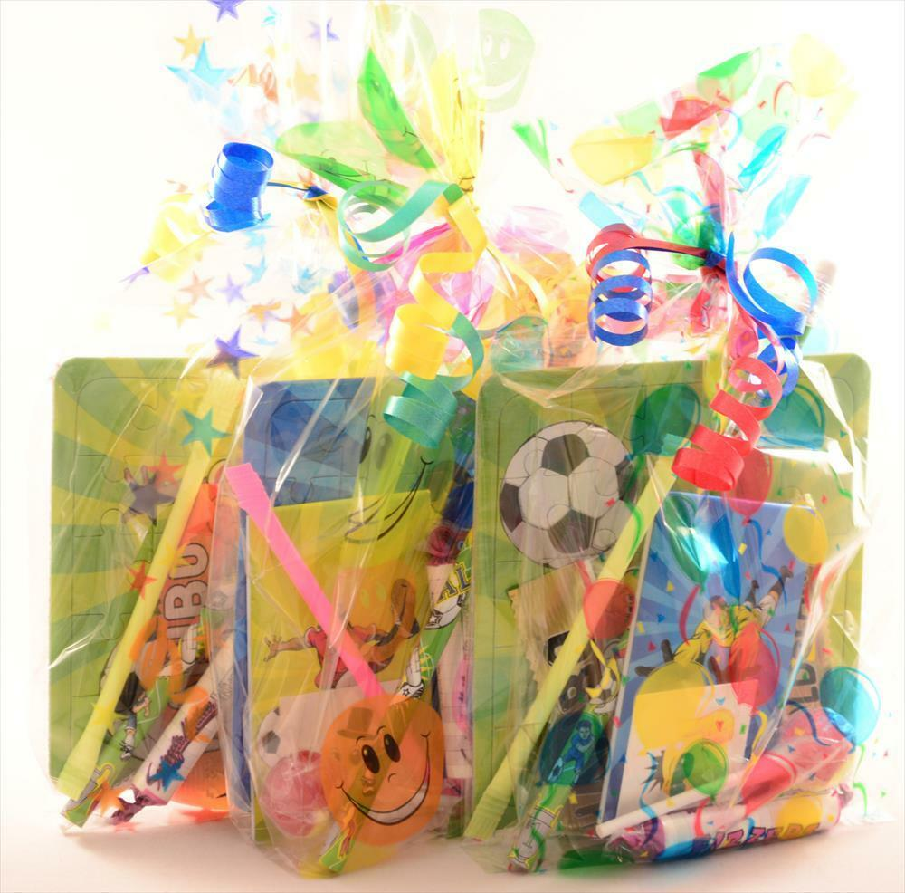 Pre Filled Boys Party Bags Kids/Children Birthday, Wedding
