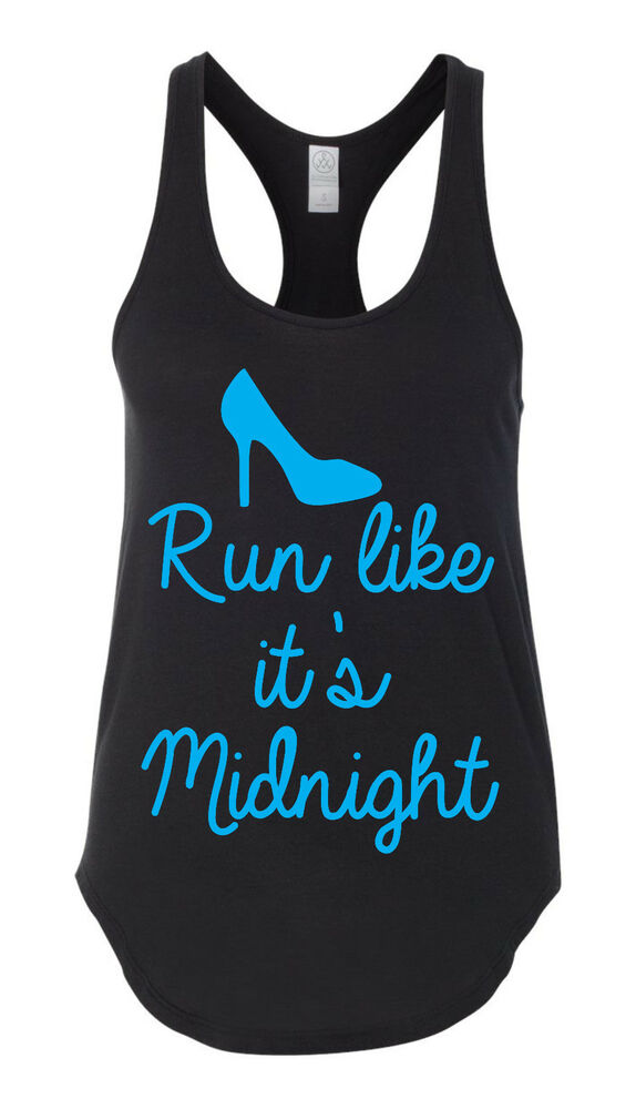 Run like it 39 s midnight workout tank top workout tshirt for Best work out shirts