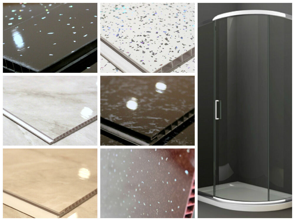 Shower Wall Panel Kit PVC Wall Panels 1000mm Wide 26m
