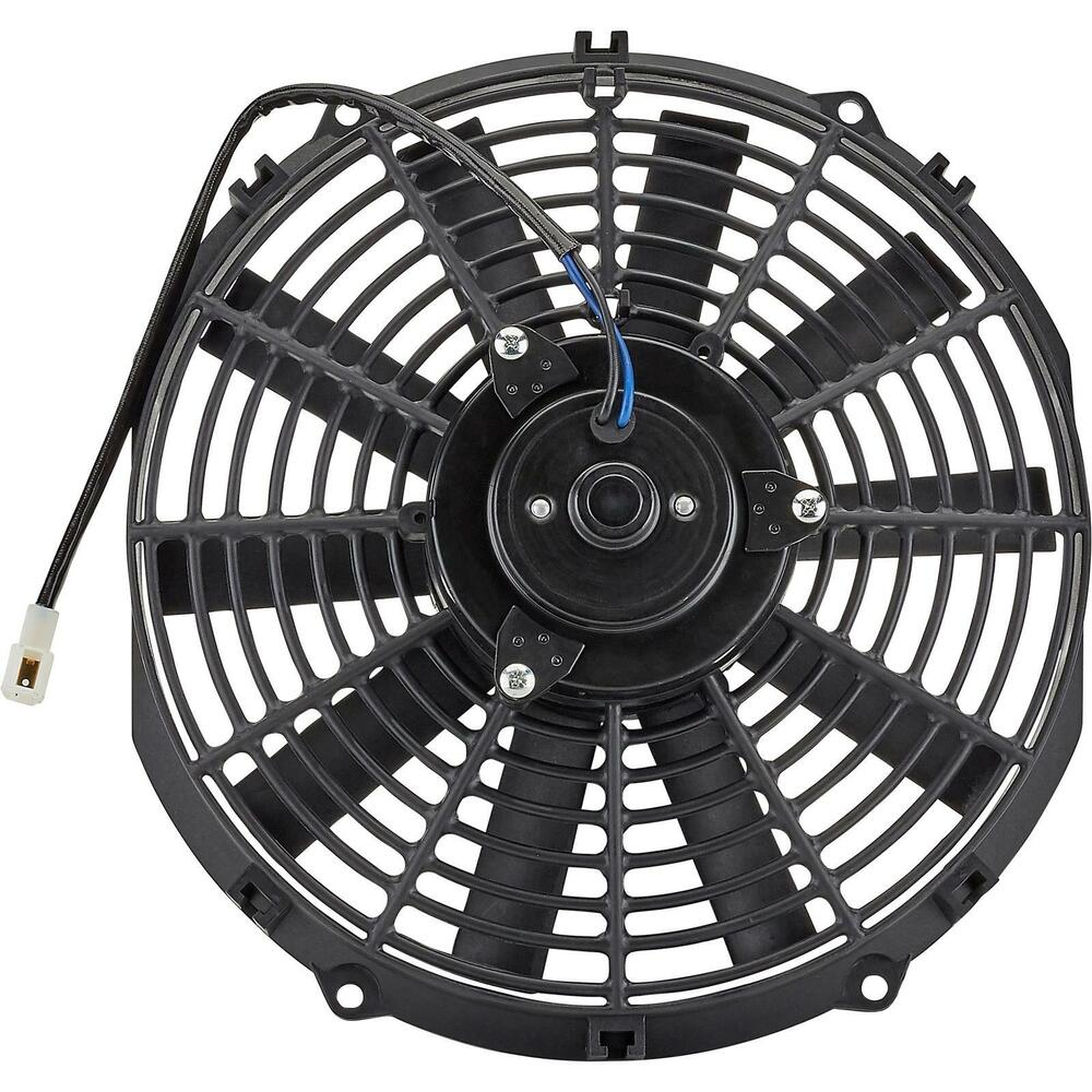 12 Volt Cooling Fans : Volt electric radiator cooling fan inch dia push