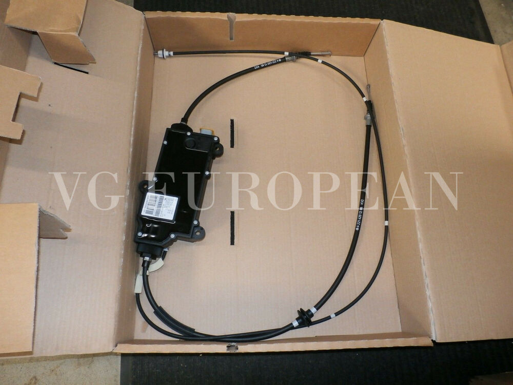 Mercedes benz s cl class genuine parking brake actuator for Mercedes benz s550 parts and accessories