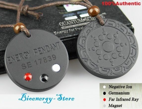 Powerful Quantum Bio Scalar Energy Pendant Necklace Balance Chain