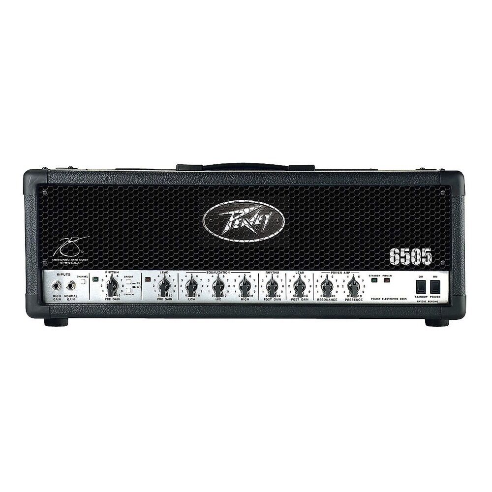 peavey 6505 120 watt high gain guitar amplifier 3 band eq amp head footswitch 14367116731 ebay. Black Bedroom Furniture Sets. Home Design Ideas