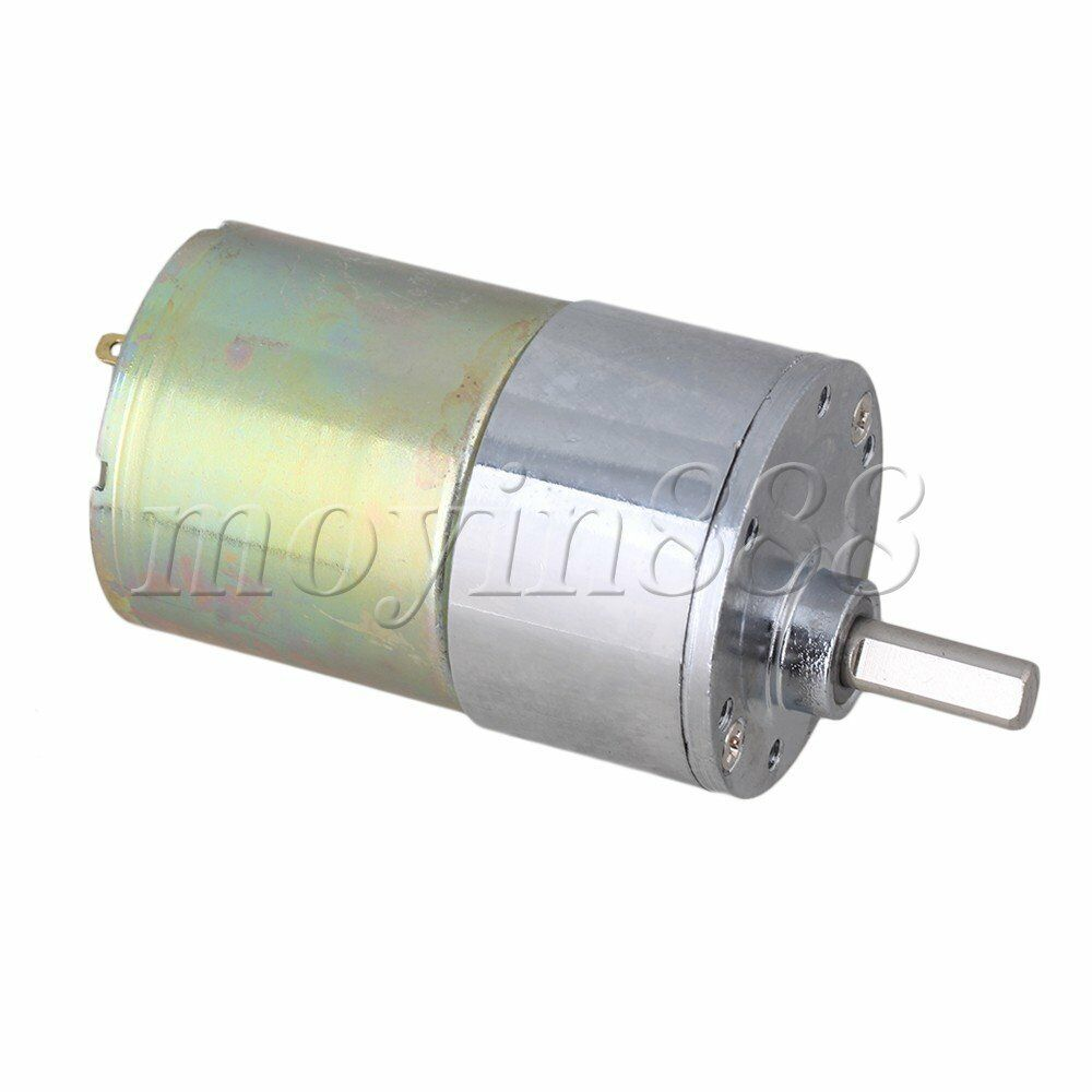 12v Dc 200 Rpm Gear Box Speed Control Electric Motor Low