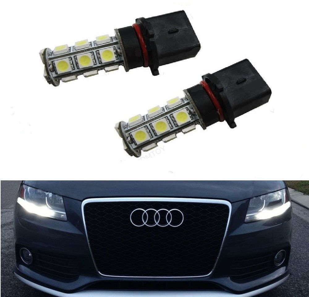 audi a4 b8 b8 5 p13w xenon white smd led bulbs drl. Black Bedroom Furniture Sets. Home Design Ideas