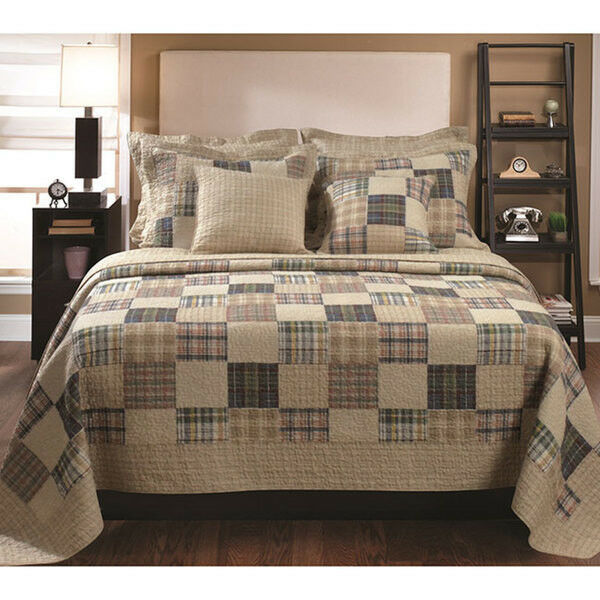 Classic Reversible Beige Brown Blue Green Red Country