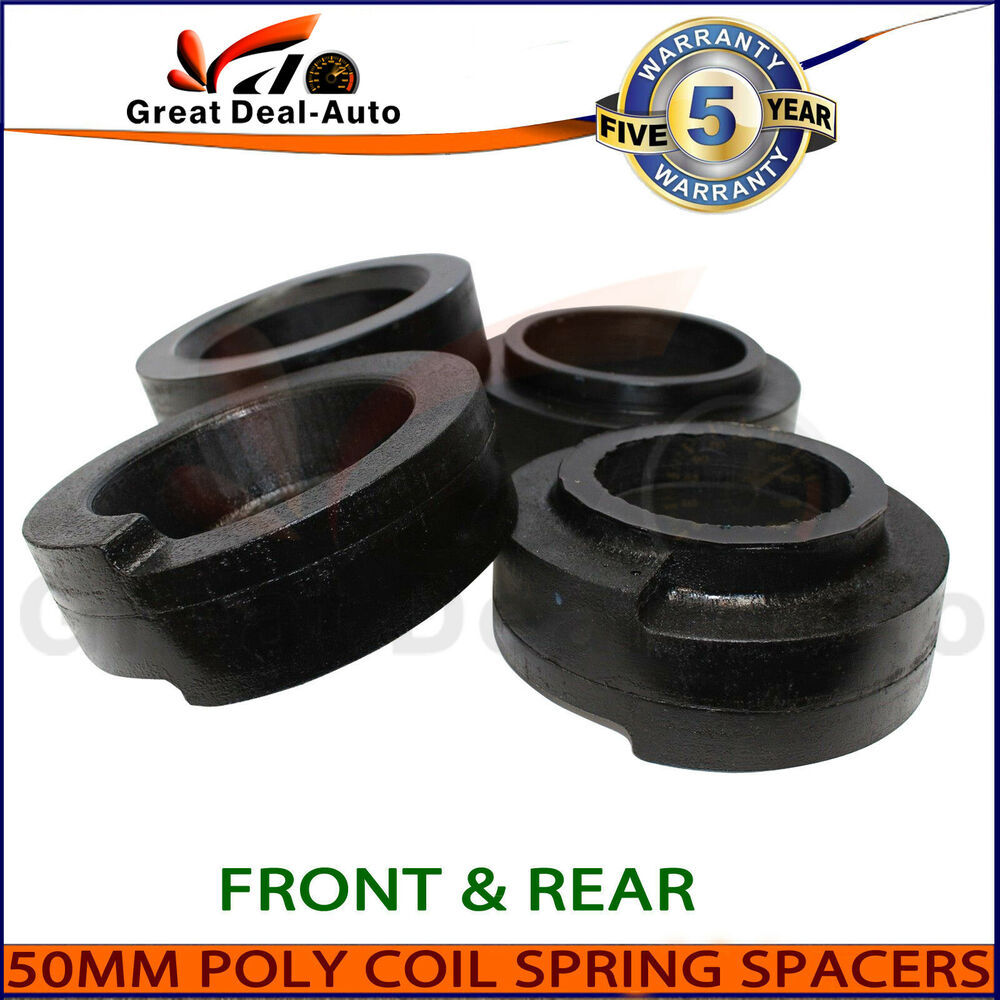 Coil Spring Spacer Lift Kit >> Fit Nissan Patrol GQ GU 4WD Front Rear 30mm Coil Spring Polyurethane Spacers Kit | eBay