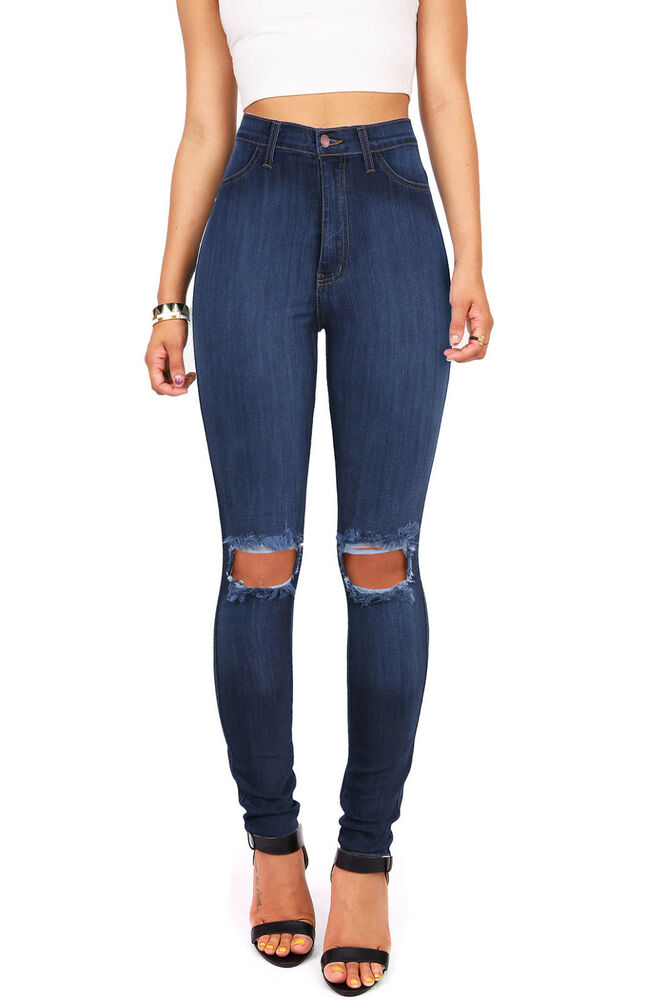 High waisted jeans continued to be a popular style of women's jeans throughout the 's. In the 's, high waisted bell bottom jeans were the signature jeans style for both men and women. The popularity of high rise jeans even continued into the 's before fading during the 90's.