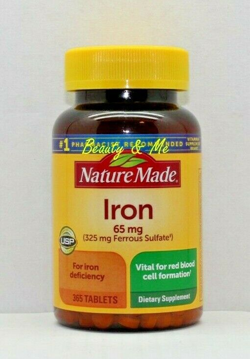 Nature Made Iron Pills