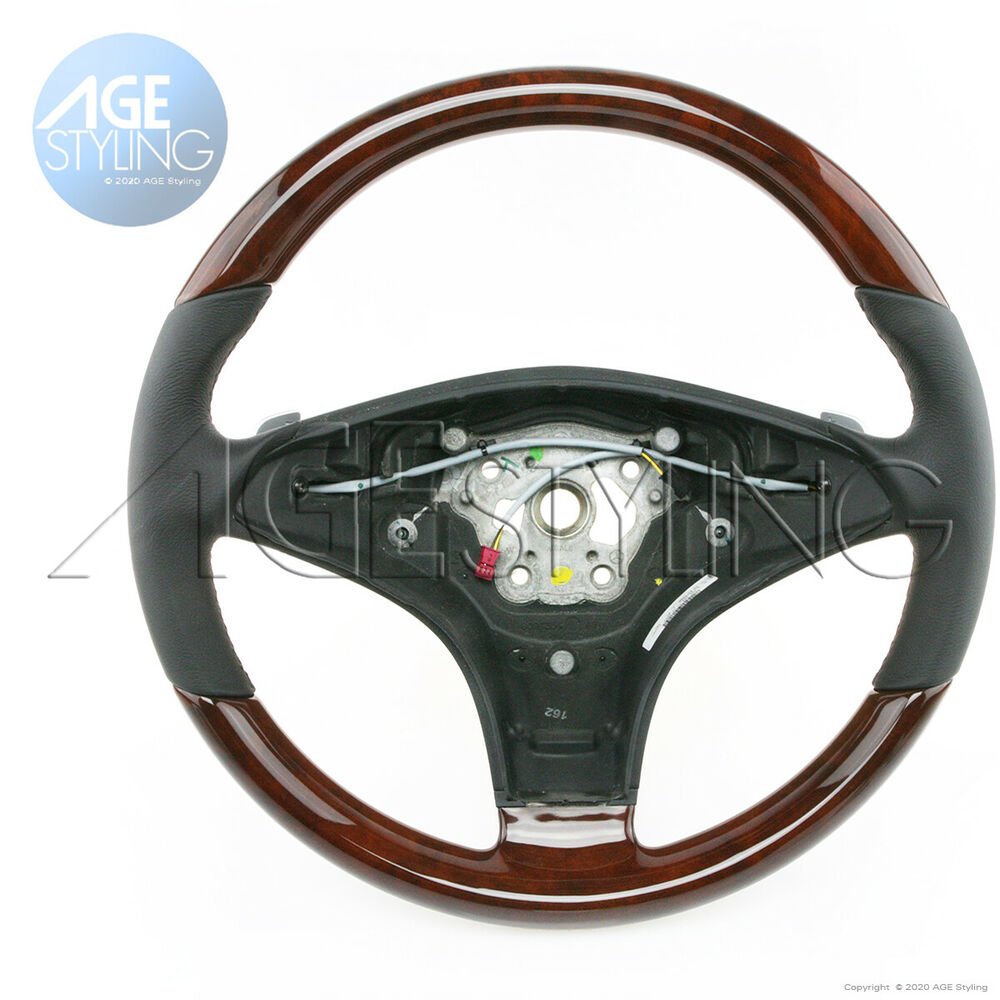 Mercedes benz sl500 sl550 sl600 2008 2011 walnut wood for Mercedes benz steering wheel cover