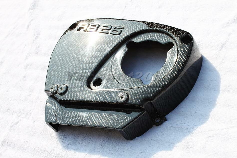 carbon cam gear cover for nissan skyline gtr r32 r33 r34