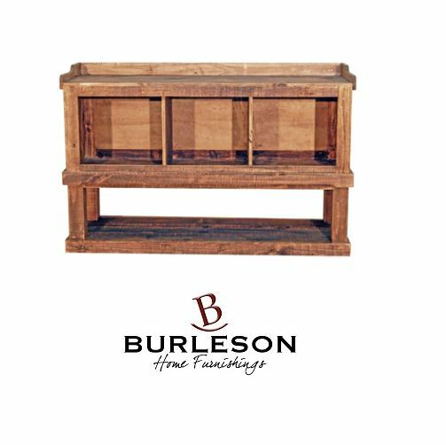 Rustic Shoe Storage Bench Real Wood Mud Room Entry Western Rustic 28 Quot Tall Ebay