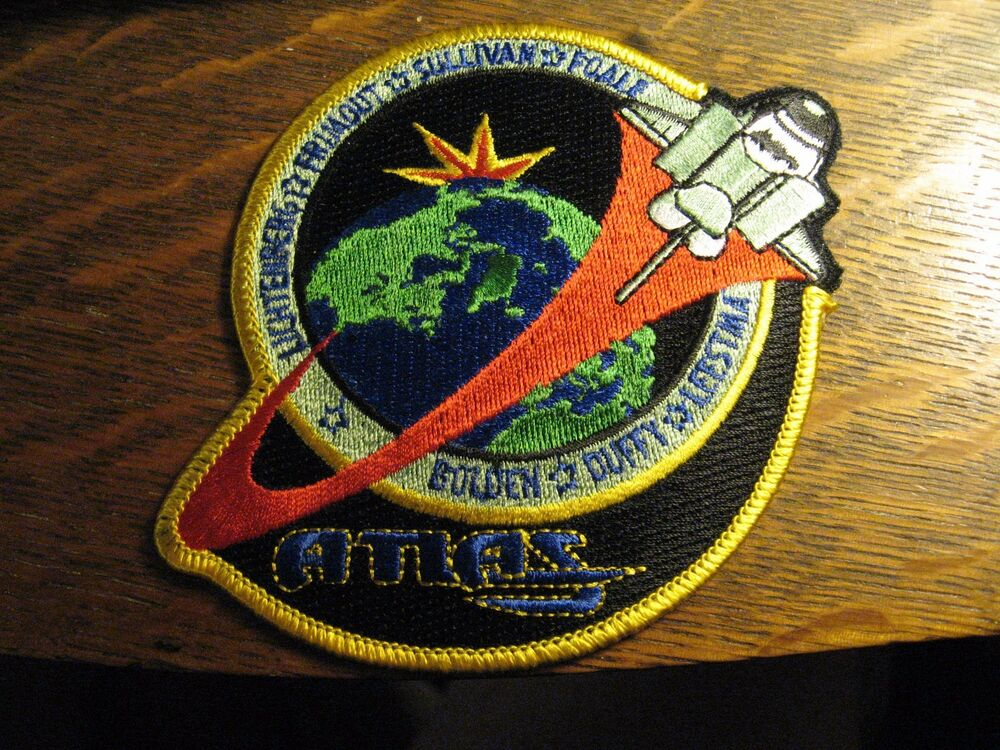 NASA STS-45 Patch - 1992 USA Space Shuttle Rocket Mission ...