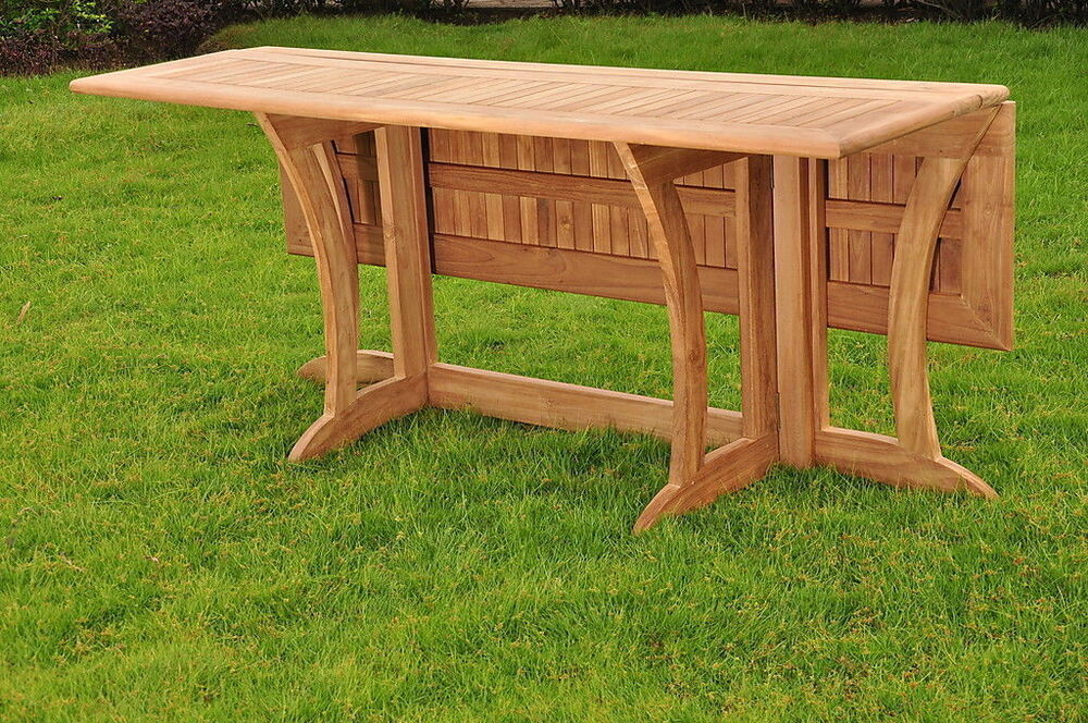 "Warwick Grade-A Teak Outdoor Patio Dining 69"" Console"