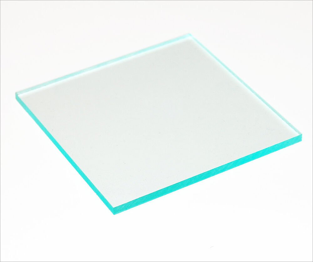 Acrylic Perspex Plastic Sheet Green Edge Clear 5 Mm Thick