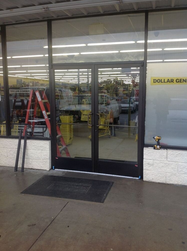 Commercial Storefront Glass Doors : Commercial storefront doors ada compliant handicap