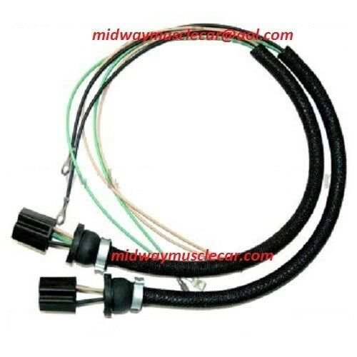 headlight bucket extension wiring harness 55 56 chevy 150 210 bel air nomad ebay. Black Bedroom Furniture Sets. Home Design Ideas