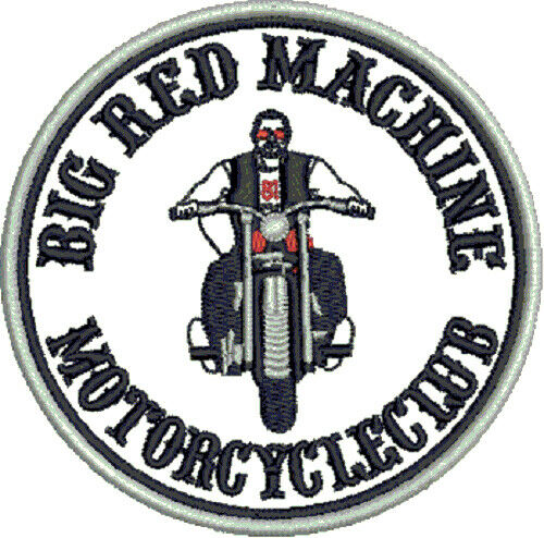 hells angels support 81 patch aufn her big red machine. Black Bedroom Furniture Sets. Home Design Ideas