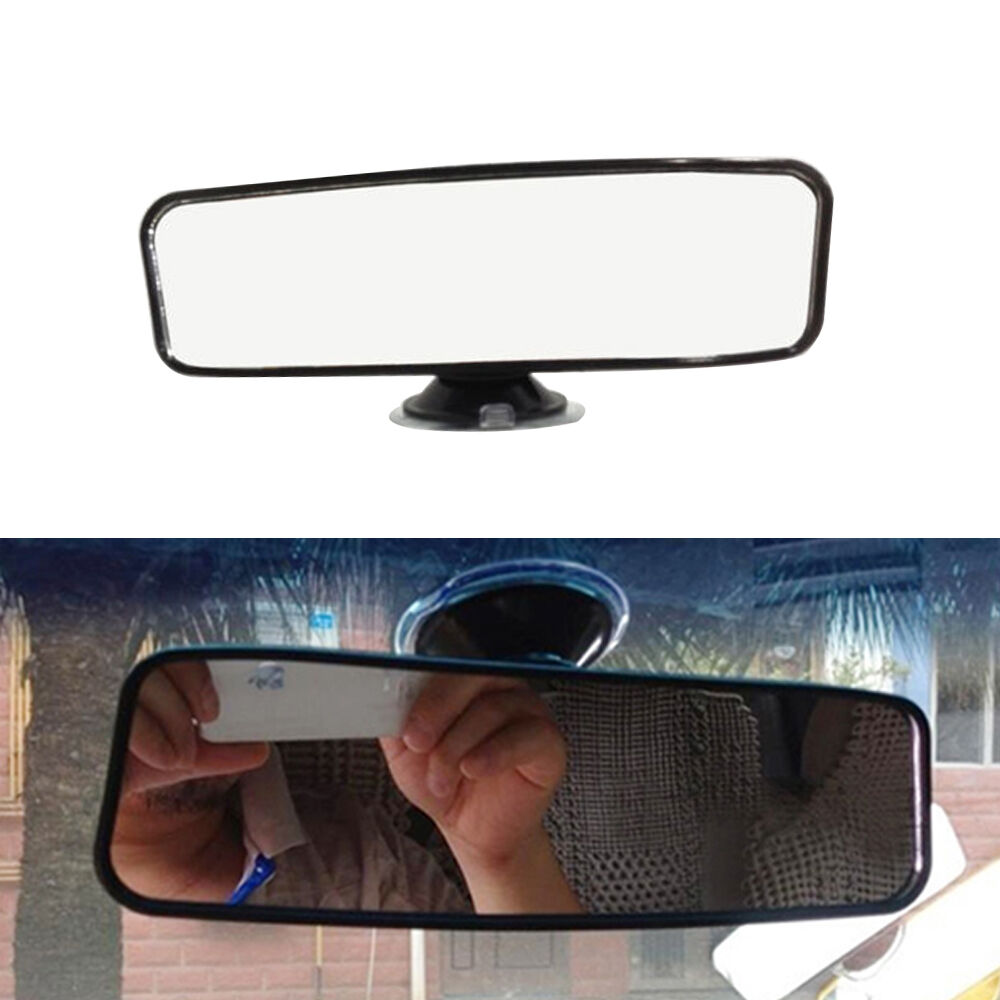 car truck interior rear view mirror suction mount for cars ford jeep bmw honda ebay. Black Bedroom Furniture Sets. Home Design Ideas