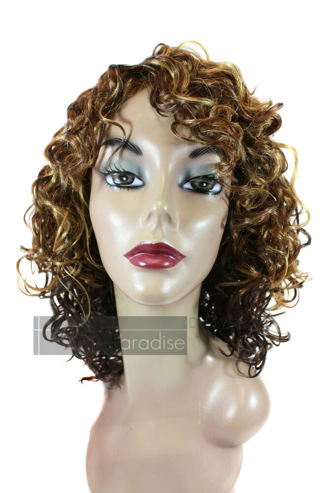 styling synthetic hair synthetic medium length spiral curl curly oprah style bina 8297