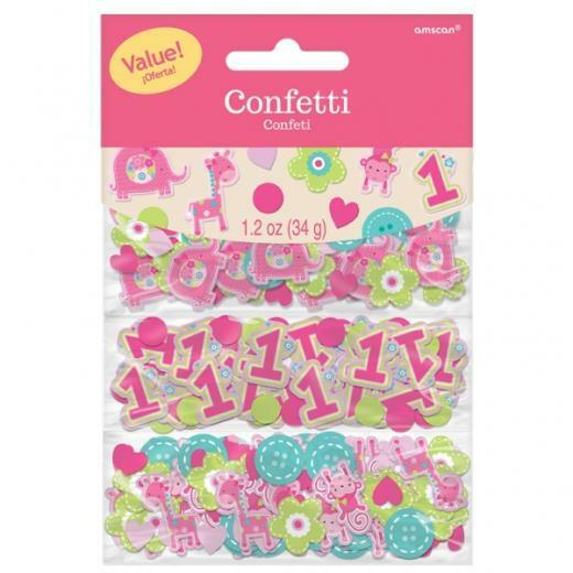 Safari jungle baby 1st birthday animal confetti bag for 1st birthday decoration packs