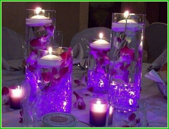mini led wedding centerpiece flower decoration lights