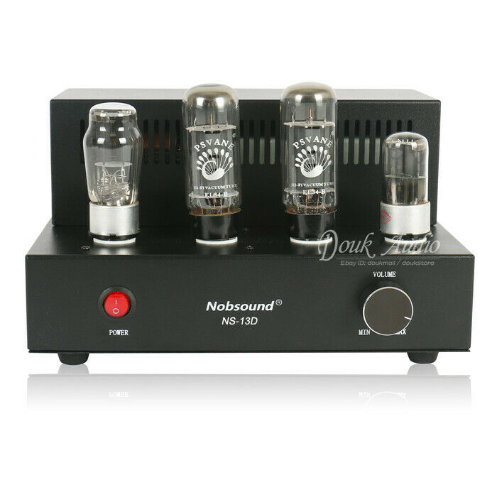 Nobsound Mini EL34 Vacuum Tube Amplifier HiFi Single-ended ...