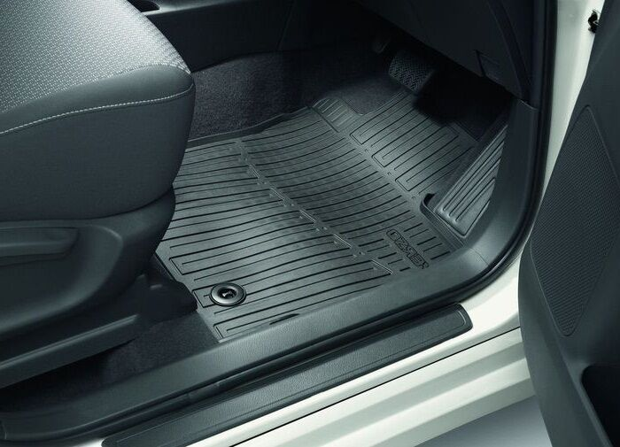 Genuine toyota car rubber floor mats new verso 2012gt pz49k for Original toyota floor mats