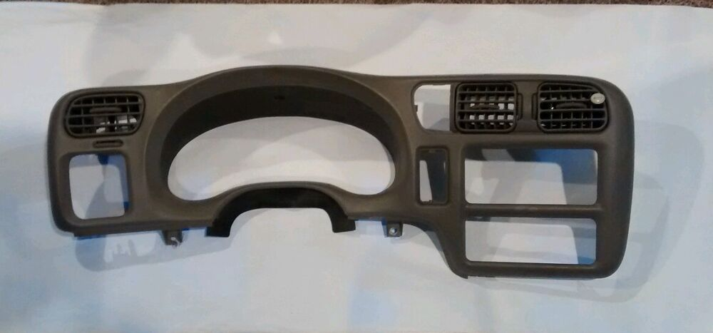 98 02 Chevy S10 Blazer Gmc Jimmy Dash Bezel Trim 99 00 01 02 Oem Grey Color Ebay