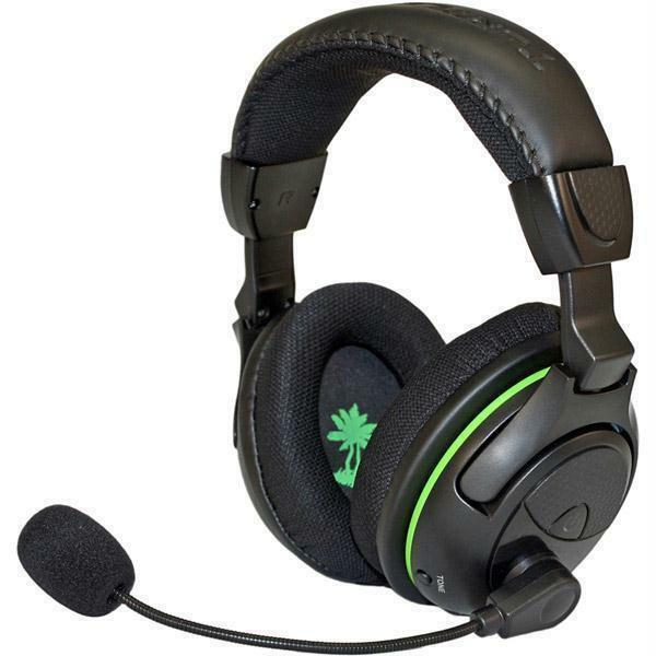 2c64140d849 Details about Turtle Beach Ear Force X32 Black/Green Headband Headsets for Microsoft  Xbox 360