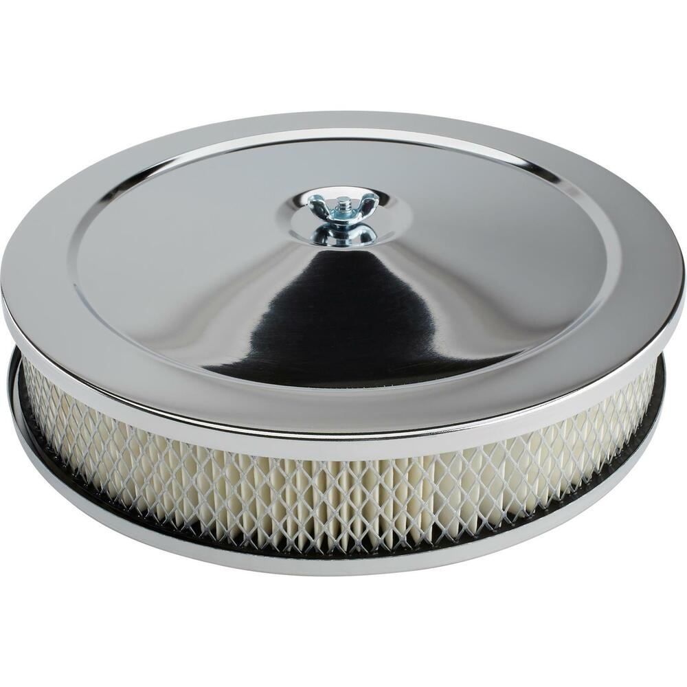 Low Profile Air Cleaner Assembly : New quot chrome plated steel air cleaner assembly bbl