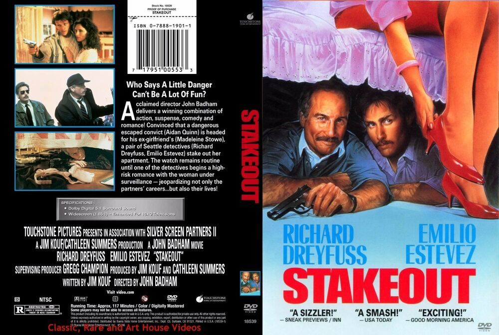 stakeout 1987 trailer