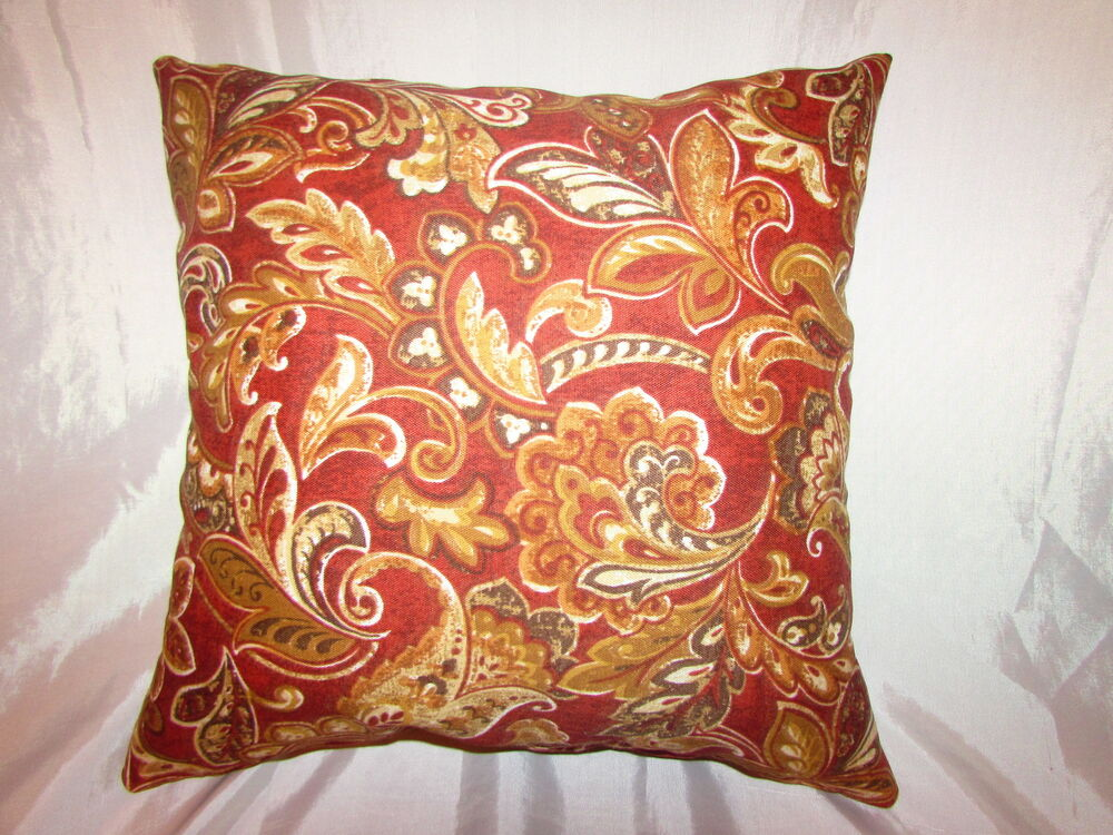 Decorative Outdoor Pillow Covers : 1 DECORATIVE THROW PILLOW CUSHION COVER 17