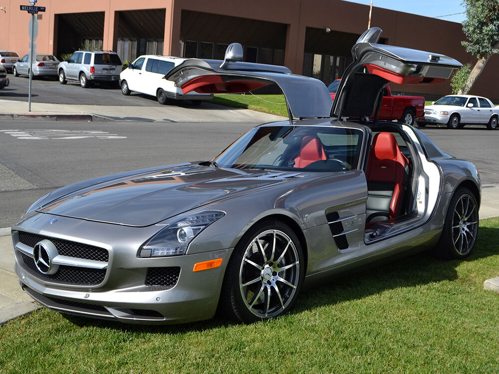 Mercedes benz sls amg ebay autos post for Ebay used mercedes benz