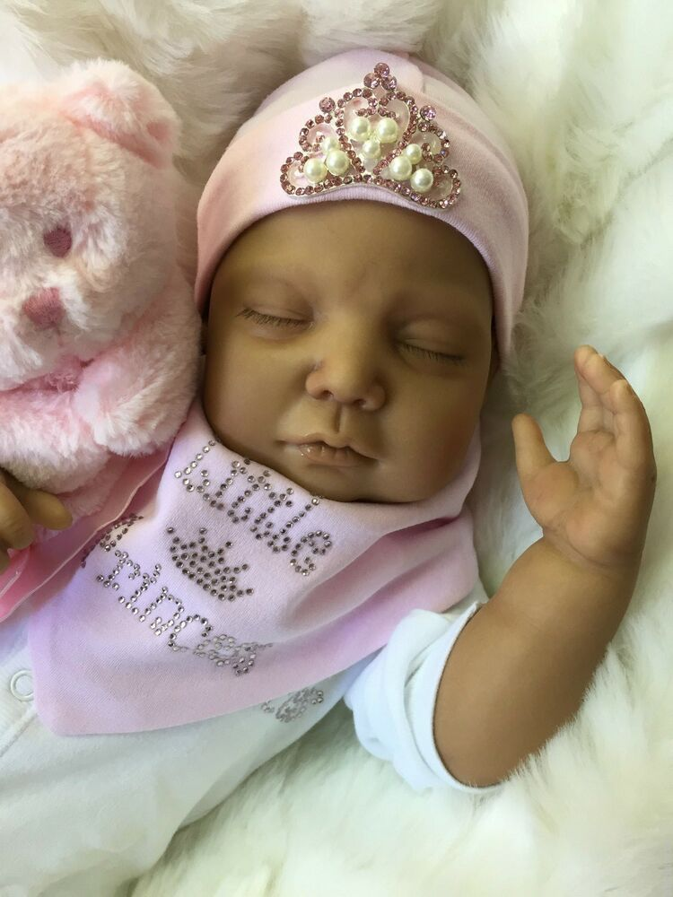 Ethnic Mixed Race Asian Reborn Doll Livvy Baby Girl