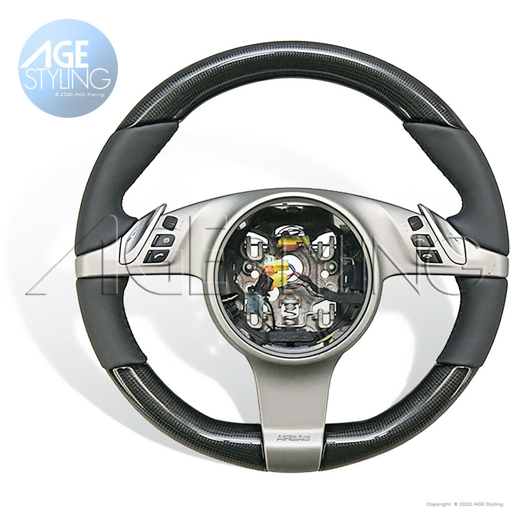 Porsche Carbon Amp Leather Pdk Steering Wheel Panamera 997