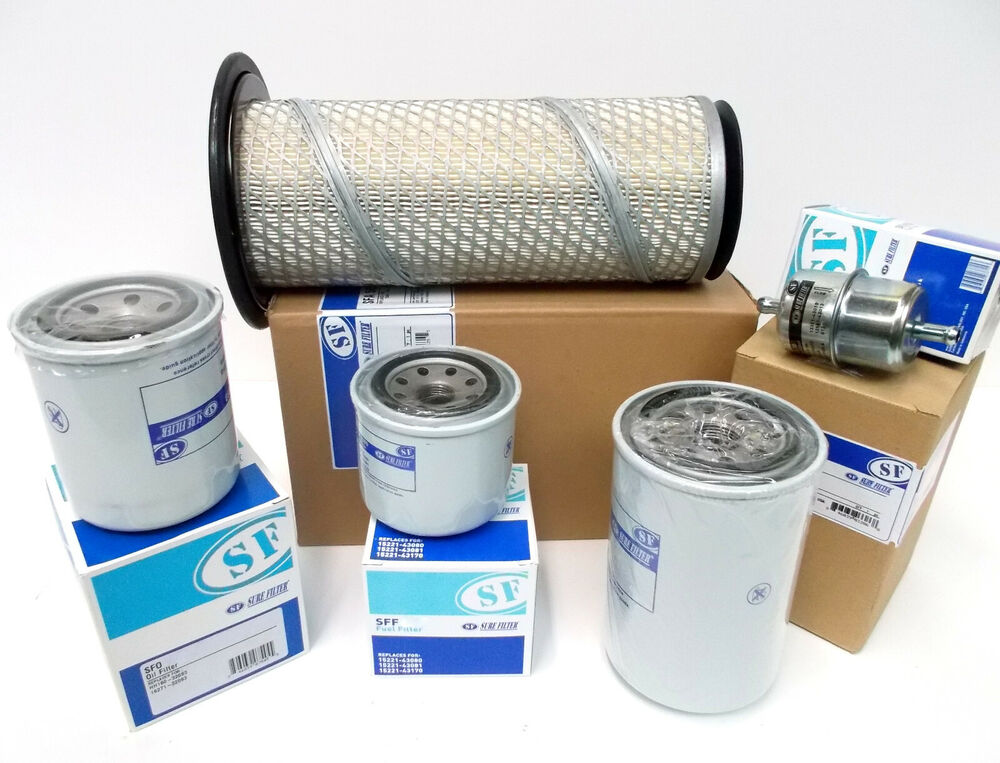 filter kit for ransomes highway 213 air oil fuel hyd with. Black Bedroom Furniture Sets. Home Design Ideas