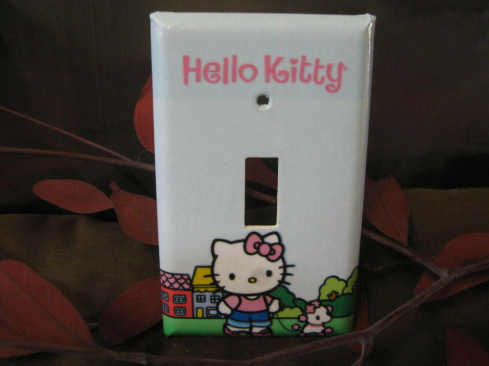 Very Cute Hello Kitty Light Switch Wall Plate Cover #1 - Variations eBay