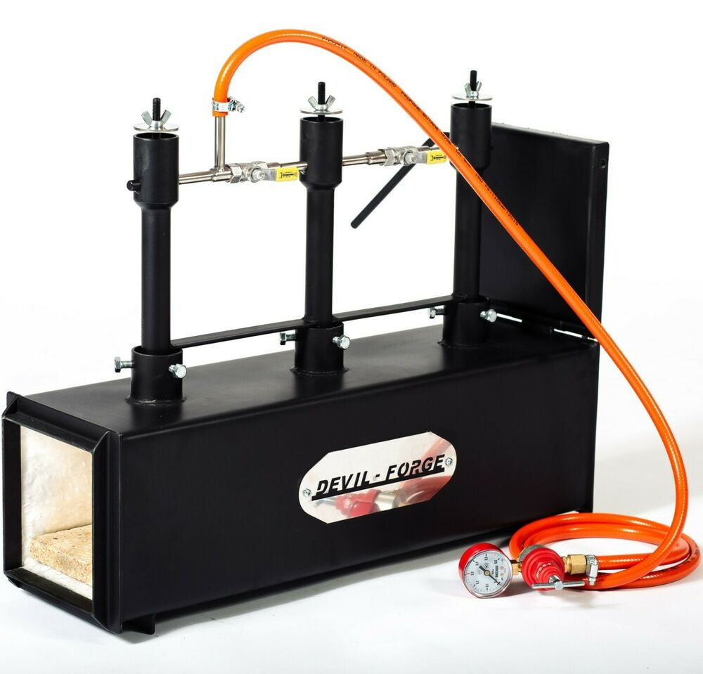 Dfprof3 1d Gas Propane Forge For Knifemaking Farriers
