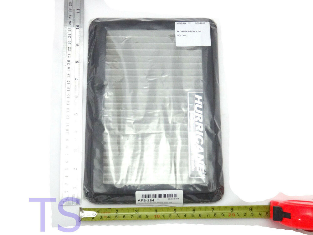 Hurricane Air Flow Filter Stainless Steel Fit Nissan