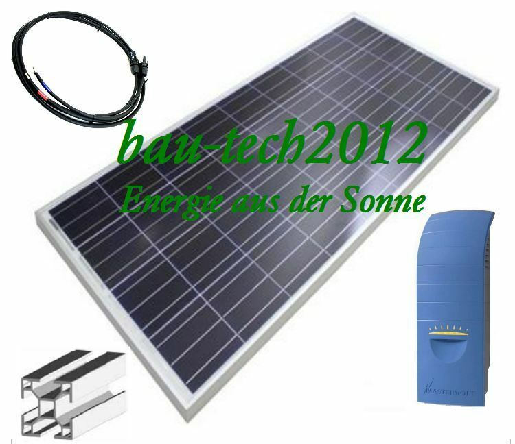520watt solaranlage plug play mit solarpaneele wechselrichter zubeh r ebay. Black Bedroom Furniture Sets. Home Design Ideas