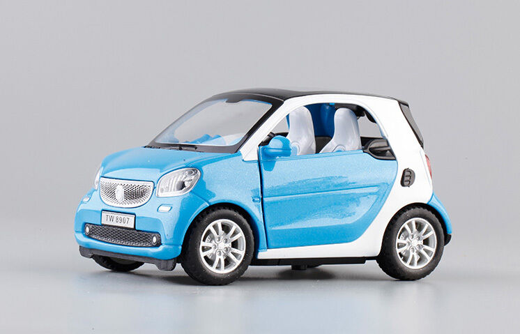 1 32 mercedes benz smart fortwo die cast model toy car for Smart mercedes benz