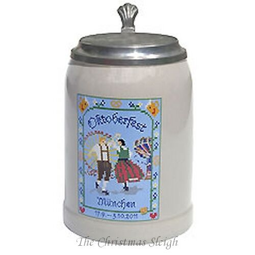 the official munich oktoberfest collectors 39 beer stein 2011 0 5 liter with lid ebay. Black Bedroom Furniture Sets. Home Design Ideas