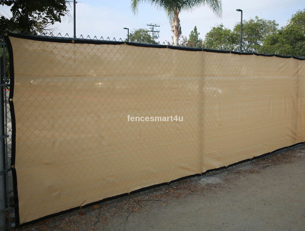 4 x 50 uv rated 85 blockage fence privacy windscreen w for What s a privacy screen