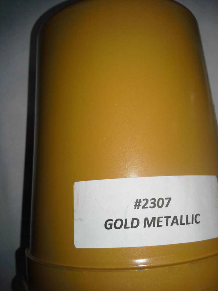 High Gloss Metallic Gold Gallon Kit Single Stage Acrylic