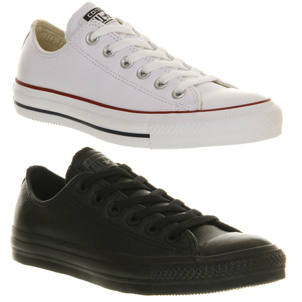 converse all oxford leather mens womens shoes