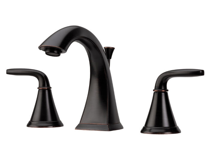 Widespread Bathroom Sink Faucets: Price Pfister F049PDYY Pasadena Widespread Bathroom Sink