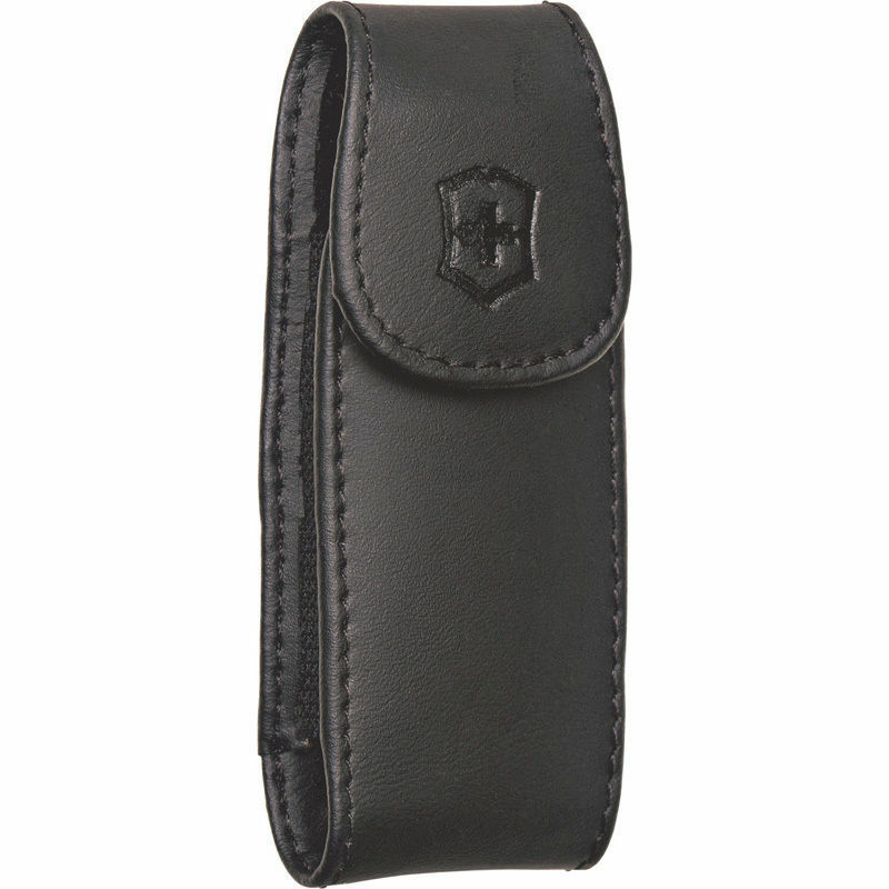 Swiss Army Large Leather Knife Clip Pouch Victorinox Item